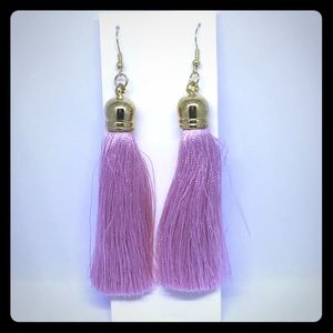 Jewelry - Pink Tassle Earrings - NWT